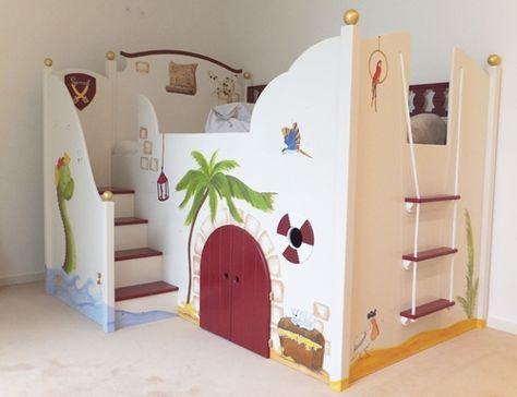 Kinderbetten   Kinder zimmer, Hochbetten kinderzimmer, Kinderzimm