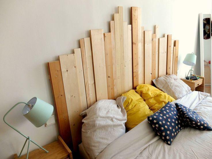 DIY Holz Kopfteil - Es gibt Zeiten ... , #Diy #gibt #Holz .