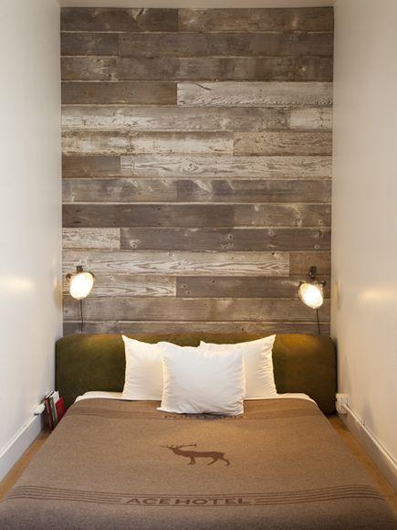 Schöne Holz Panel Kopfteil Besten Bilder Über Wa... - #besten .