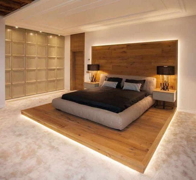 Schlafzimmer Design mit Holz – 22 Einrichtungsideen mit rustikalem .