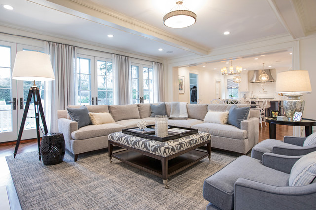VB Home Interiors - Transitional - Living Room - Miami - by vb .