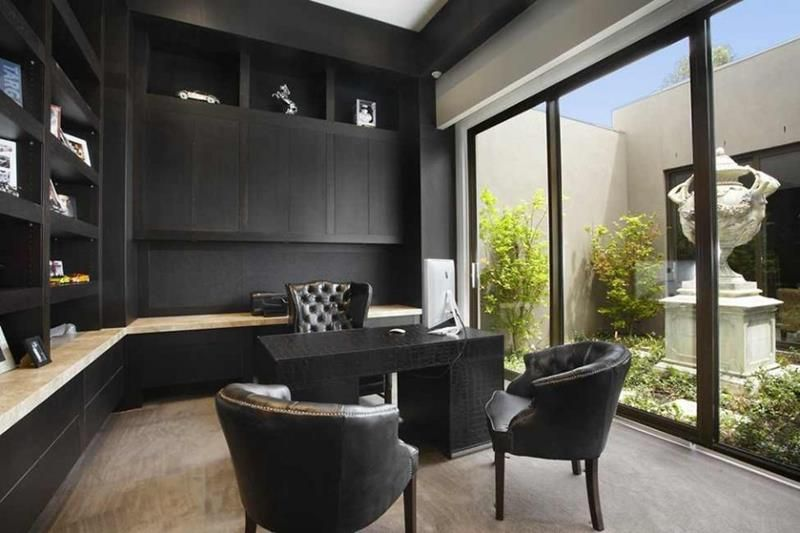 24 Luxury and Modern Home Office Designs | Modern home offices .
