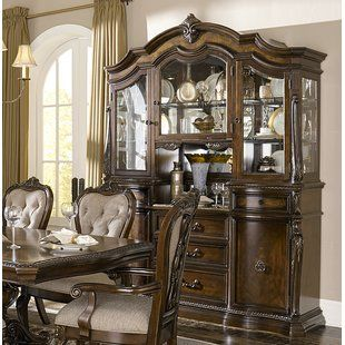 Astoria Grand Royale Lighted China Cabinet | Schlafzimmer .