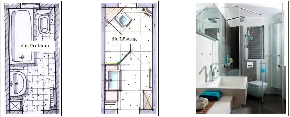 4 qm Duschbad | Badezimmer grundriss, Badezimm