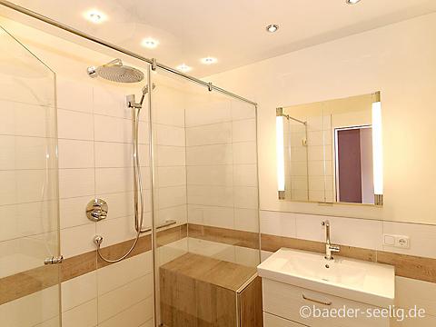 Fliesen in Holzoptik im Duschbad Ideen für Ihr Bad. BÄDER SEEL
