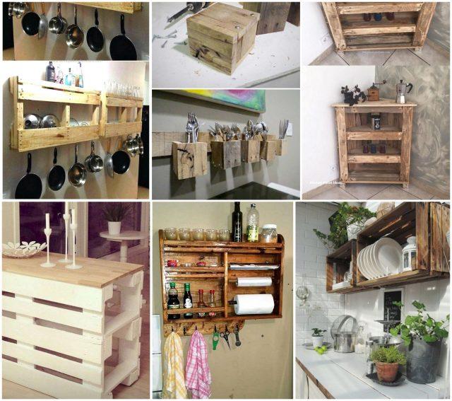 Ideen für Ihre Küche: Diy Möbel aus Paletten :) - nettetipps.