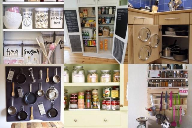 22 praktische, platzsparende Ideen für die Küche - nettetipps.