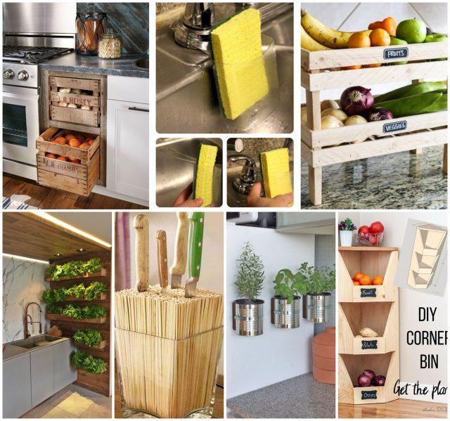 15 super clevere DIY Ideen für die Küche! :) - nettetipps.