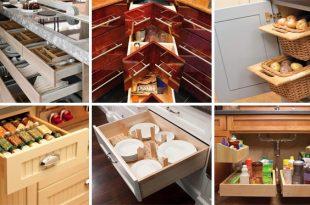 26 Stauraum-Ideen für die Küche | CooleTipps.
