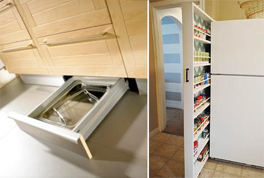 33 platzsparende Ideen für kleine Küchen - fresHou