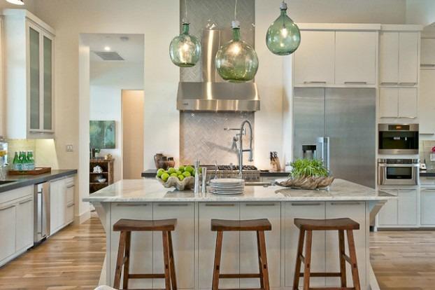 53 Ideen für die Küchenbeleuchtung - Zimmerdekorati