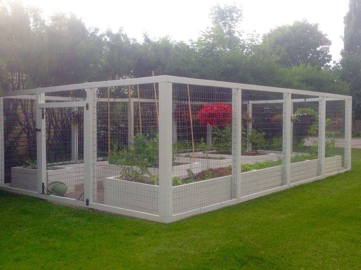 30+ Awesome Raised Garden Bed Ideen für die Hinterhof .
