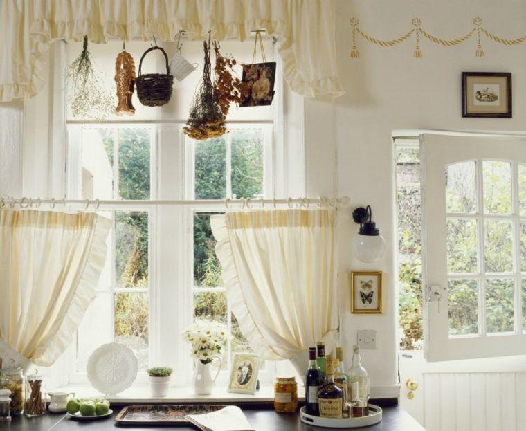 Küchenvorhänge inspirierend und sehr elegante Designs .