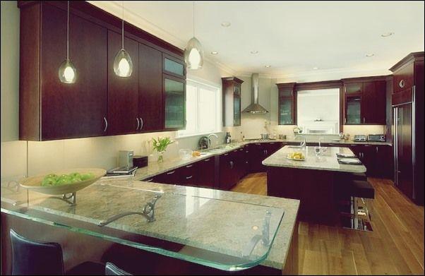 Einfache Ideen, um Ihre Küche mit Glas zu verändern   Kuche Deko .