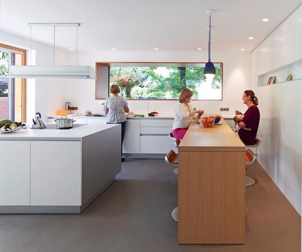 Inspiration: Küche bei Umbau verlegt - Bild 11 - [SCHÖNER WOHNE
