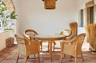 Mit diesem Indoor-Korbmöbel viel gewinnen | Haus deko, Gartenmöbel .