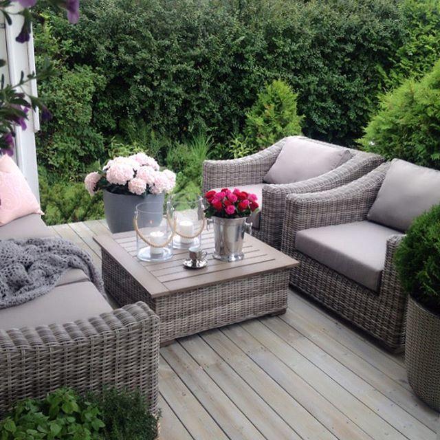 Pin von GlamFashionLuxe auf D e c o r in 2019 | Garten terrasse .