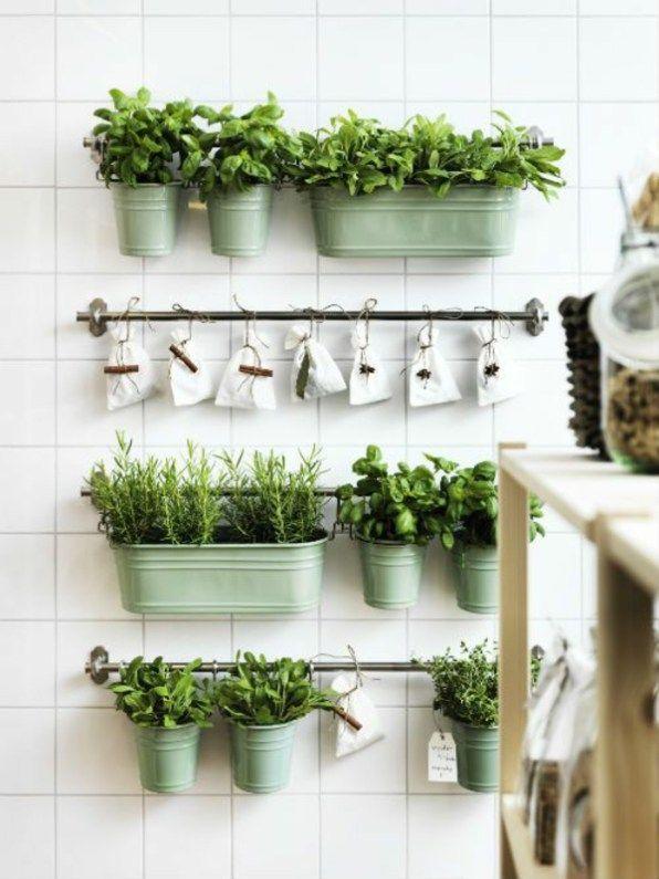 DIY – Kräutergarten Ideen | Herb garden in kitchen, Diy herb .
