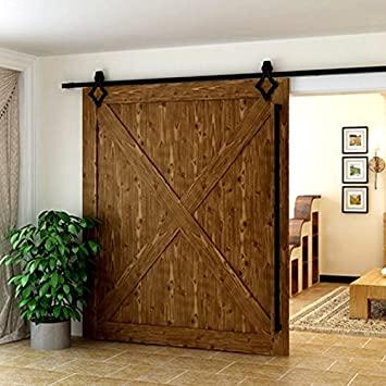 Zimmertür-Scheune aus Holz Schiebetür Schiebefenster Beschläge für .