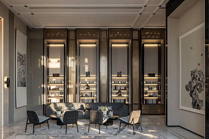 High-End-Innenarchitektur   Showroom interior design, Hotel .