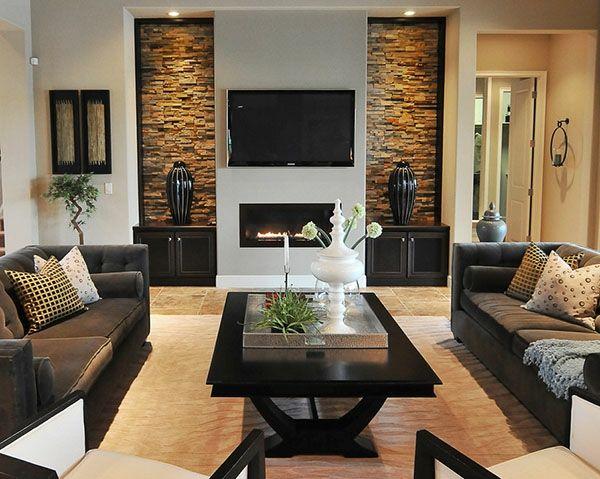Wie ein modernes Wohnzimmer aussieht - 135 innovative Designer .