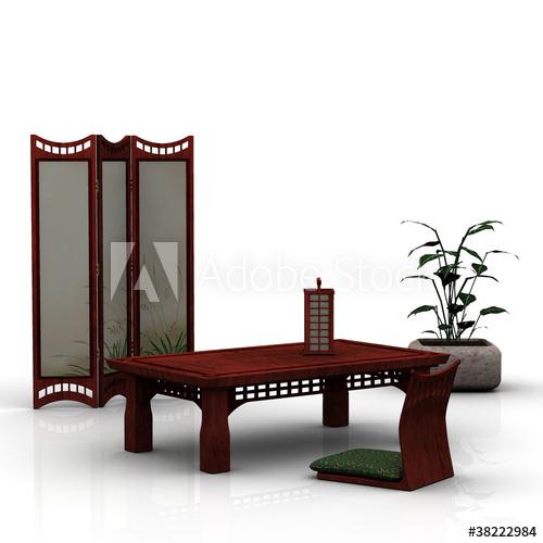 Japanische Möbel - Buy this stock illustration and explore similar .