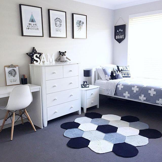 Jungen Schlafzimmer Dekor #dekor #Haus Ideen #boys #bedroom .