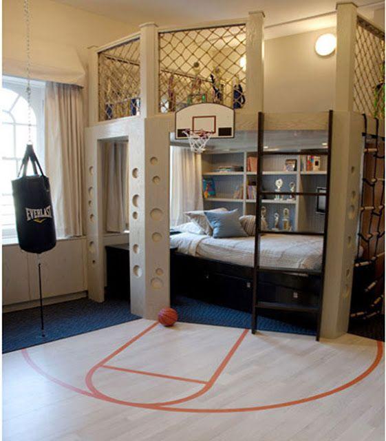 Jungen Schlafzimmer