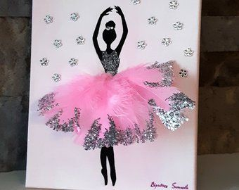 Schwan Ballerina – Geschenk für Kinderzimmer Kinderzimmer Kinder .