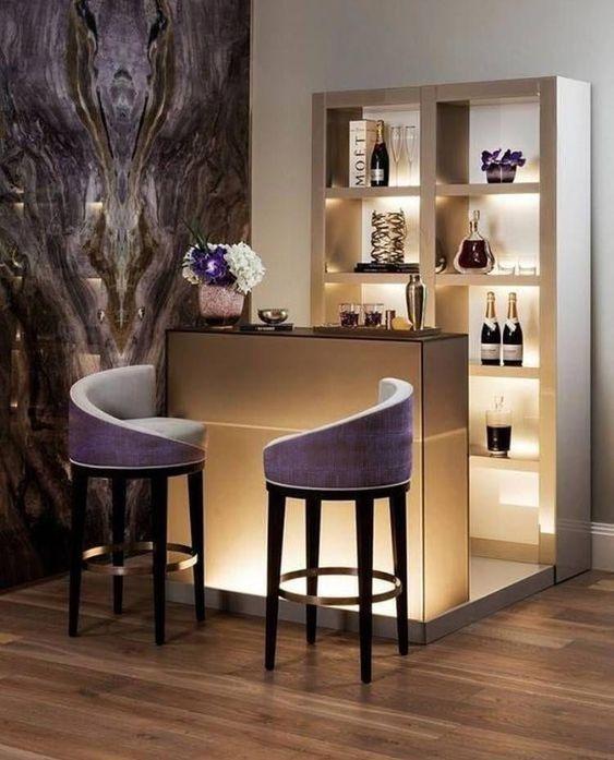 Beste Ideen für Küchenbar, Minibar und Kellerbar Eine Hausbar ist .