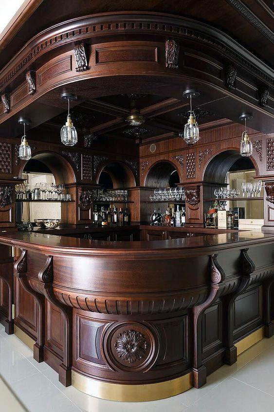 Great basement bar nook just on homesable home design #kellerbar .