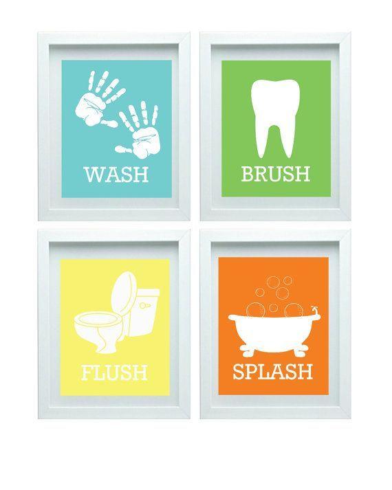 Badezimmer Regeln Kinder Badezimmer Kunst Kinder Badezimmer Dekor .
