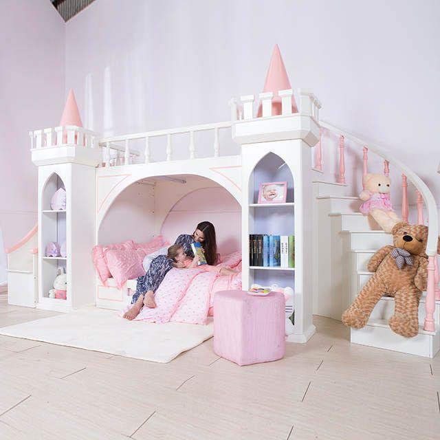0125TB005 Europäischen-stil moderne mädchen schlafzimmer möbel .