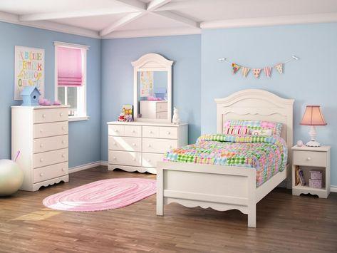 Weiße Kinder Schlafzimmer Möbel | Schlafzimmer mädchen .