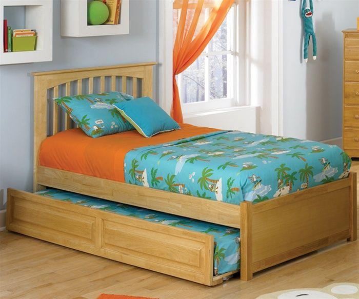 Kids Full Size Schlafzimmer Set Speicher Ahorn Bett Kinder .