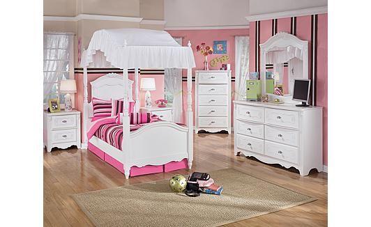 Kinder Baldachin Schlafzimmer Sets Ashley Möbel, Jugend .