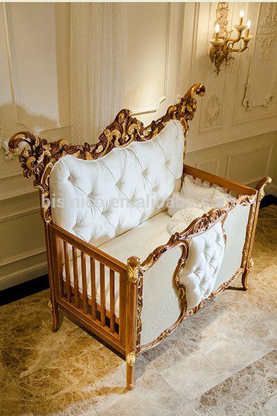 Baby Schlafzimmermöbel Gesetzt | Baby furniture, Wooden baby crib .