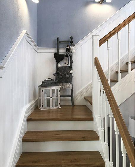 Beadboard.de Holzverkleidung für die Treppe – Selbstmontage .
