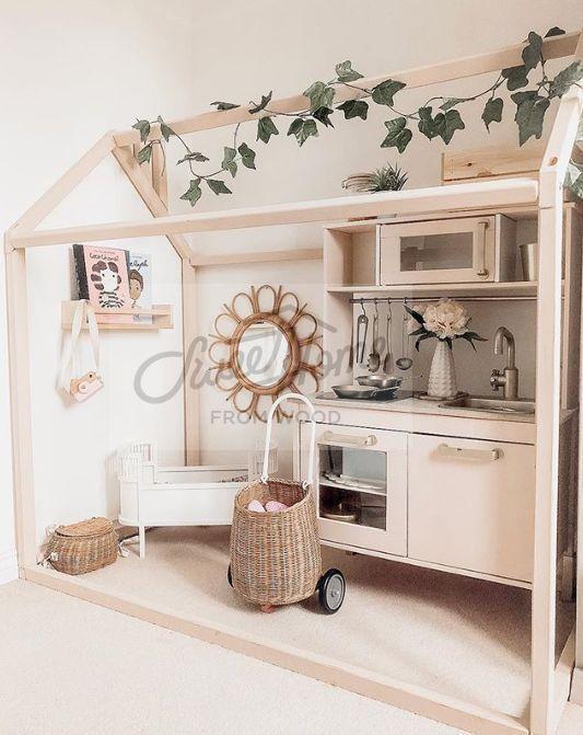 Kinderbett Kinderbett Spielzelt Babybett Holzbett Mai Bett | Baby .