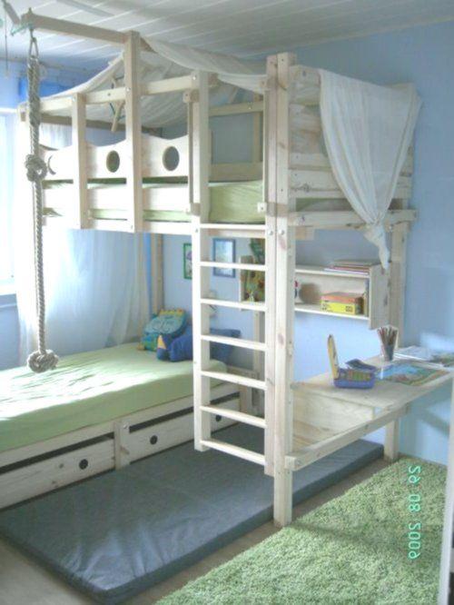 Hochbett Kinderbett Etagenbett Kinderbett Abenteuerbett .