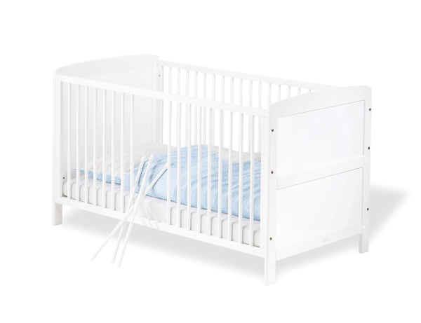 Pinolino Kinderbett Viktoria, 70x140 Kiefer weiß - Buy at kidsro