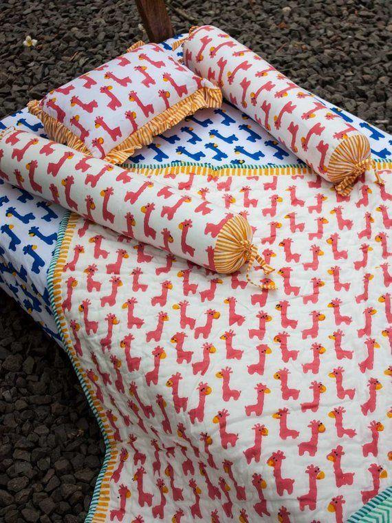 Bio-Baumwolle Baby Bettwäsche, Kinderbett Bettwäsche-Set .