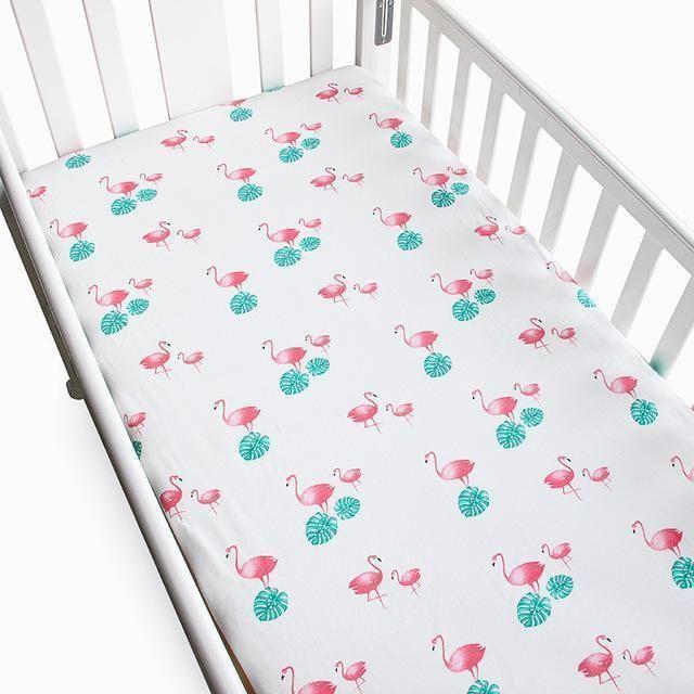 Reiner Baumwolle Kinderbett Spannbetttuch Kinderbett Bettwäsche .