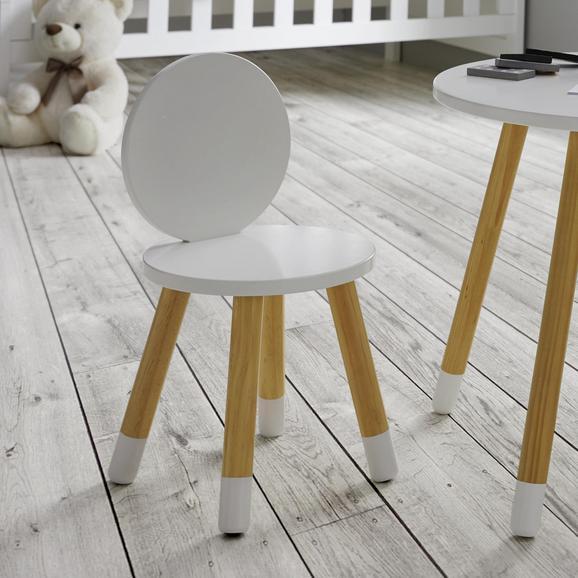 Kinderstuhl in Weiß und Pinie online bestell