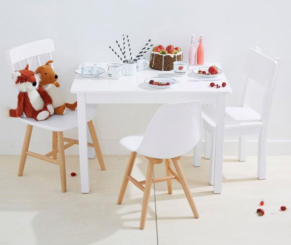 Kindertisch mit Stühlen von Vertbaudet - Bild 7 - [LIVING AT HOM