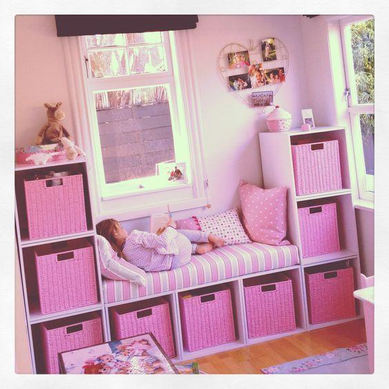 Ideen für Mädchen Kinderzimmer zur Einrichtung und Dekoration. DIY .