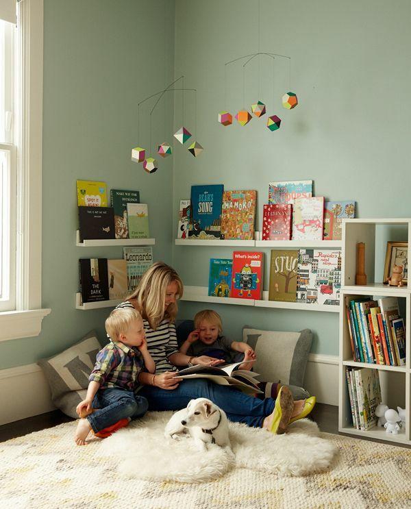 Kuschelecke Kinderzimmer - eine persönliche Ecke fürs Kind .