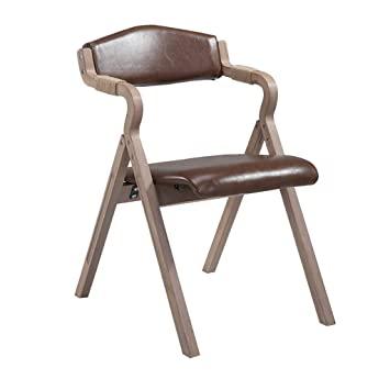 Amazon.de: XSJ-Esszimmerstühle Retro hölzerner speisender Stuhl .