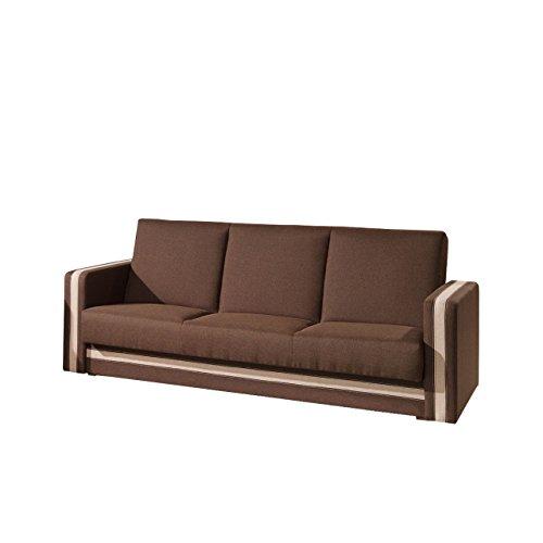 Mirjan24 Klassisches Sofa Euforia Quadro mit Bettkasten und .