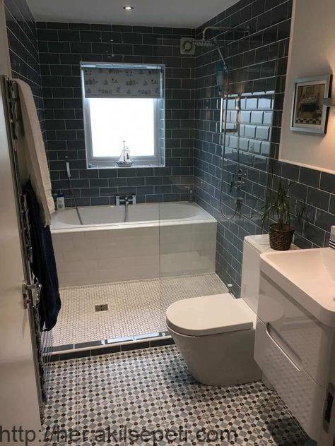 50 kleine Badezimmerideen, die die Raumwahrnehmung steigern .